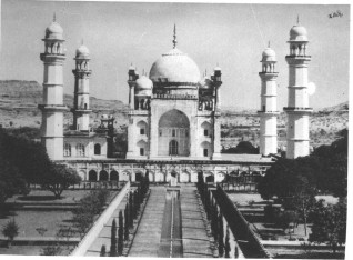 Antic photo of bib ka maqbara