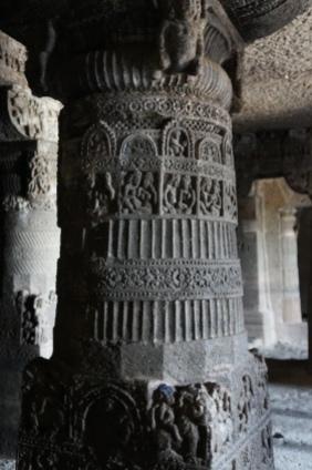 Temples bouddhiste en Inde, les grottes d'Aurangabad