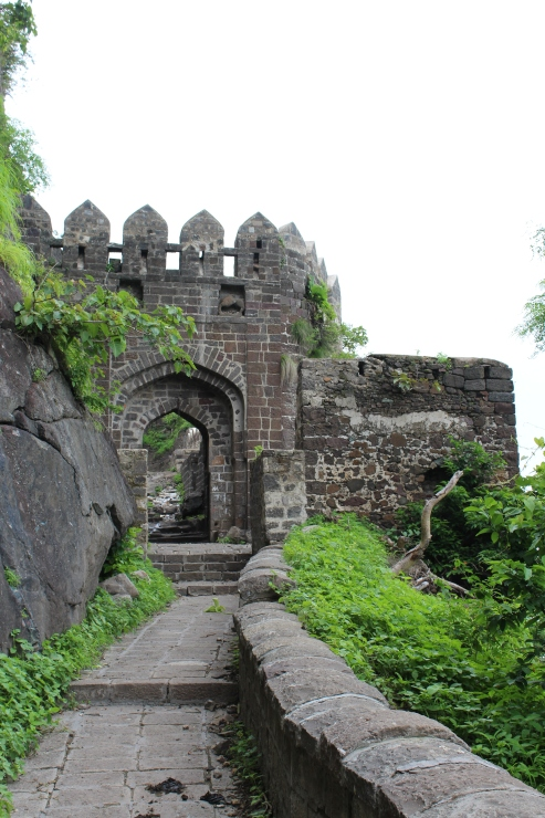 Antur fort main gate