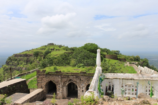 Sufi saint tomb in top of the fort